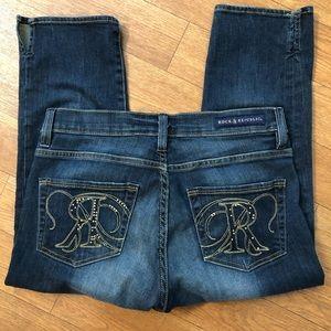 Rock & Republic Cropped Capri Jeans Size 4